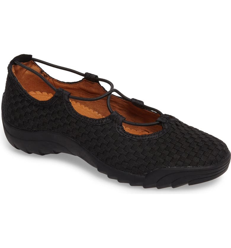 BERNIE MEV. Bernie Mev Rigged Connect Sneaker, Main, color, BLACK FABRIC