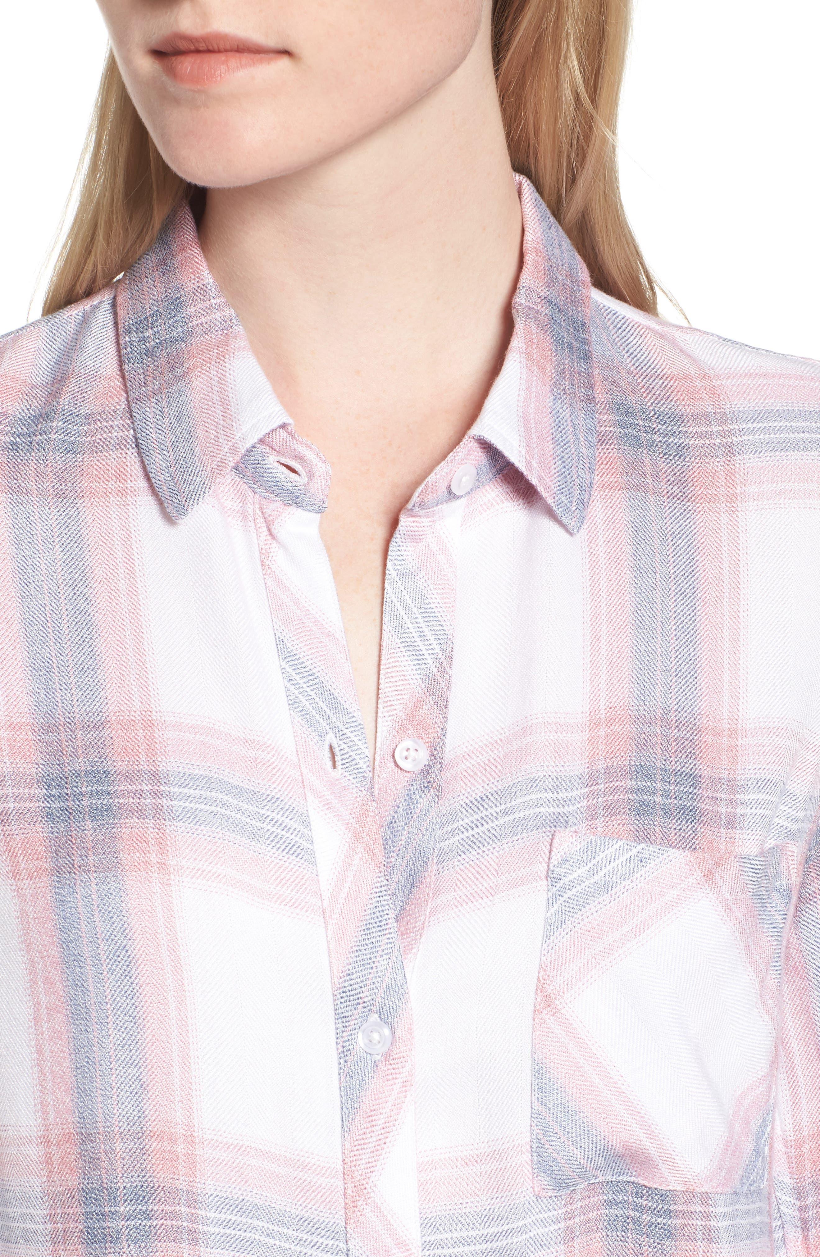 ,                             Hunter Plaid Shirt,                             Alternate thumbnail 642, color,                             154