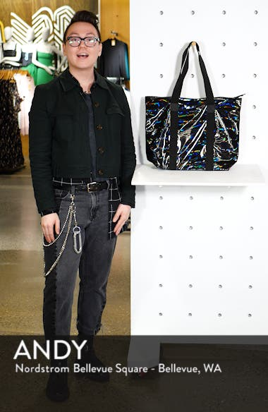 Rush Waterproof Holographic Tote, sales video thumbnail