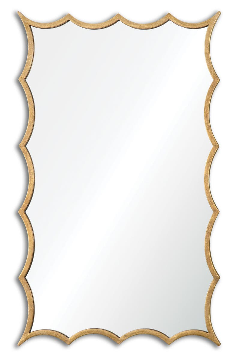UTTERMOST Dareios Wall Mirror, Main, color, METALLIC GOLD
