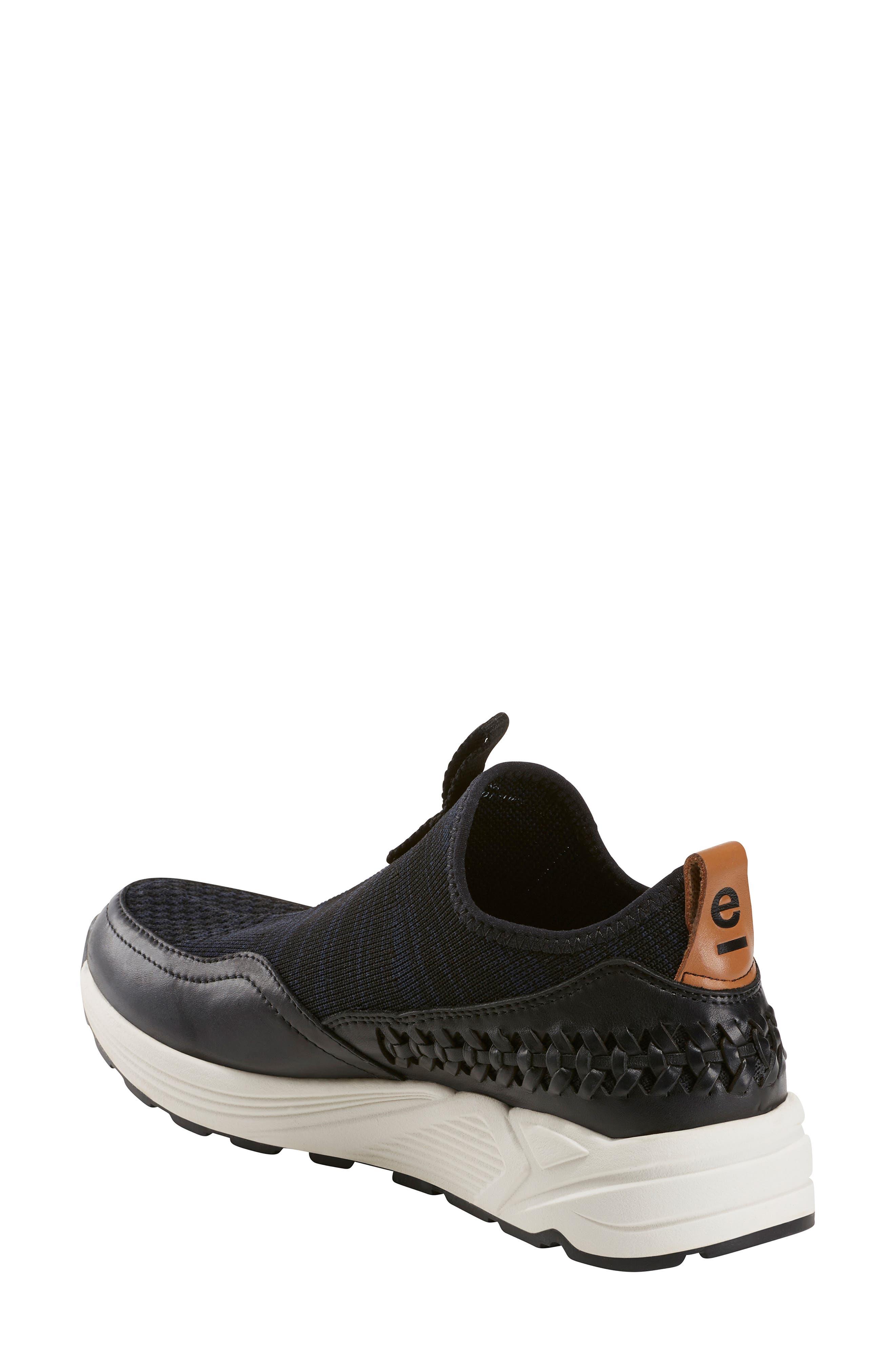 ,                             Ramble Sneaker,                             Alternate thumbnail 2, color,                             BLACK LEATHER