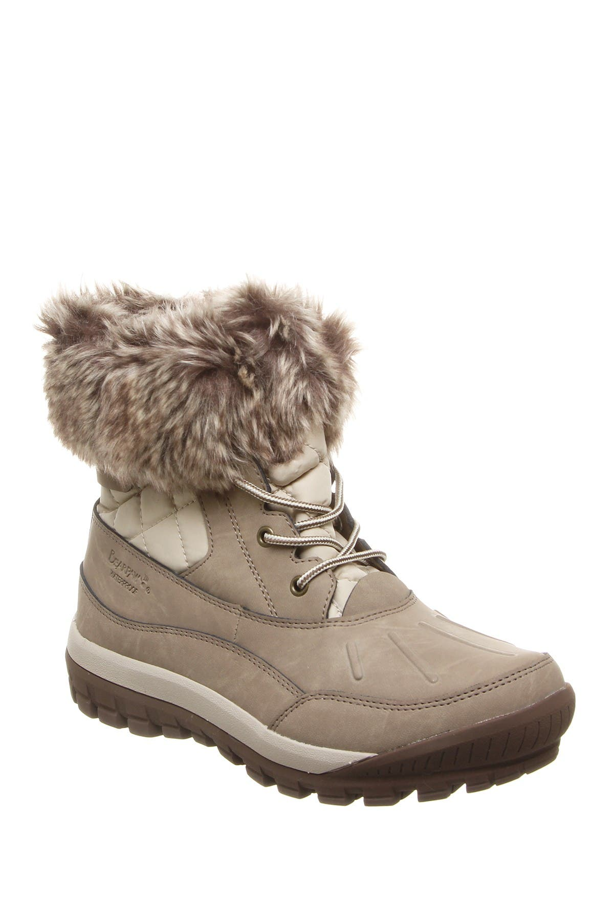 Image of BEARPAW Becka Faux Fur Collar Boot