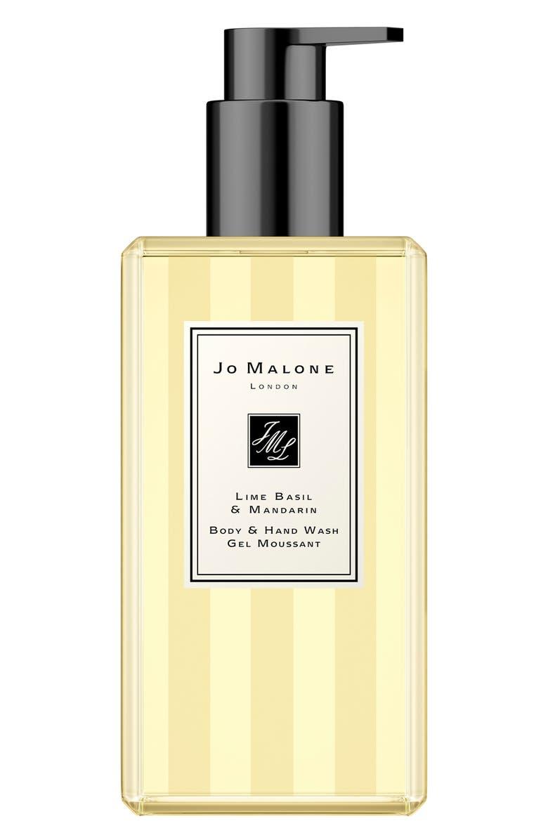 JO MALONE LONDON<SUP>™</SUP> Jumbo Size Lime Basil & Mandarin Body & Hand Wash, Main, color, NO COLOR