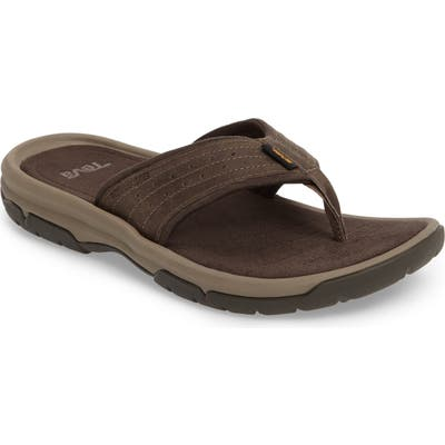 Teva Langdon Flip Flop, Brown