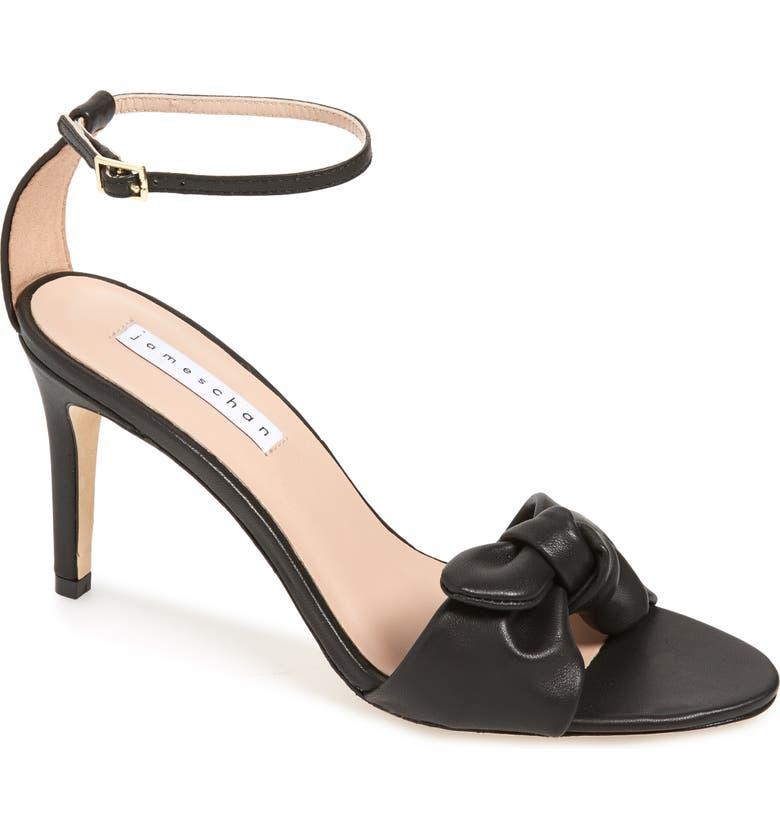 JAMES CHAN Paulina Ankle Strap Sandal, Main, color, 009
