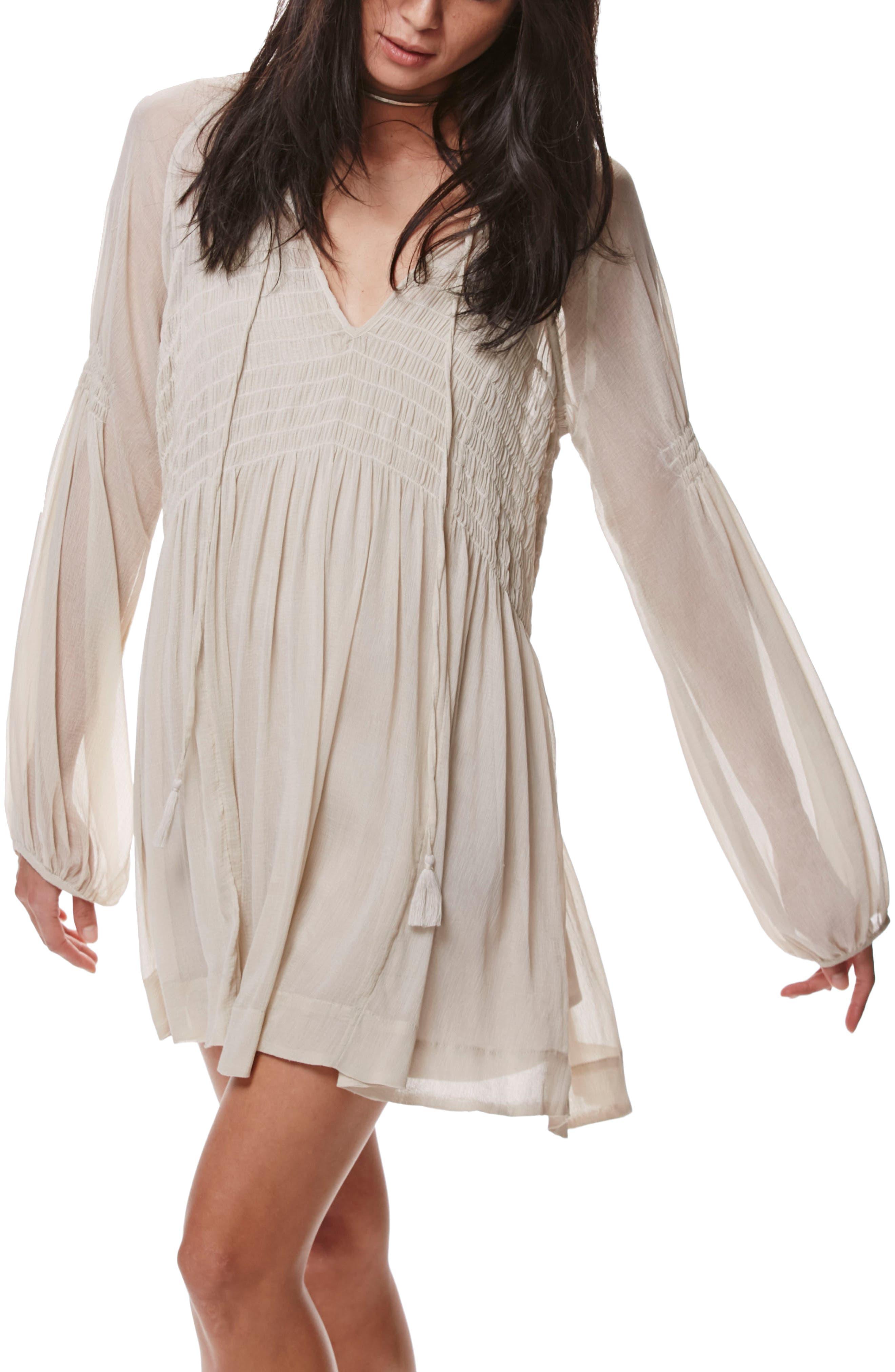 ,                             Lini Babydoll Dress,                             Alternate thumbnail 5, color,                             030