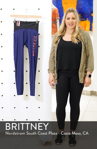 Discus High Waist Leggings, sales video thumbnail