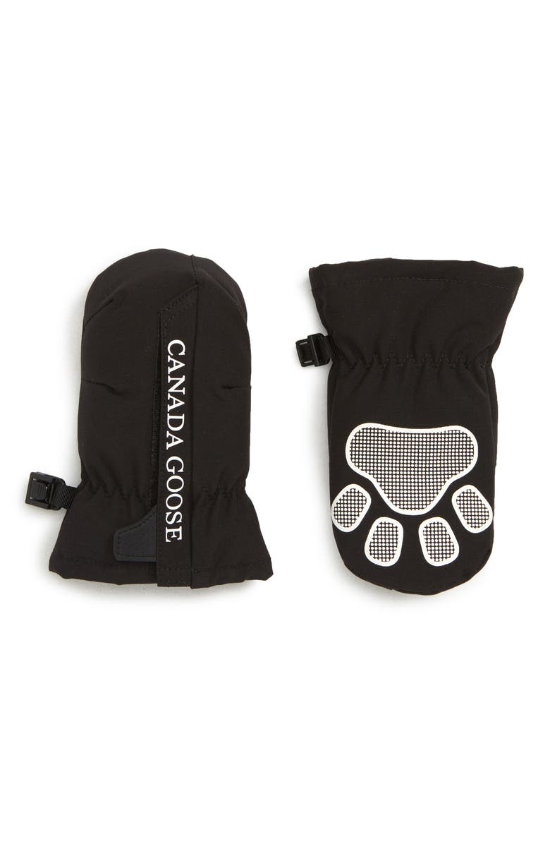 CANADA GOOSE Baby Paw Mittens, Main, color, 001