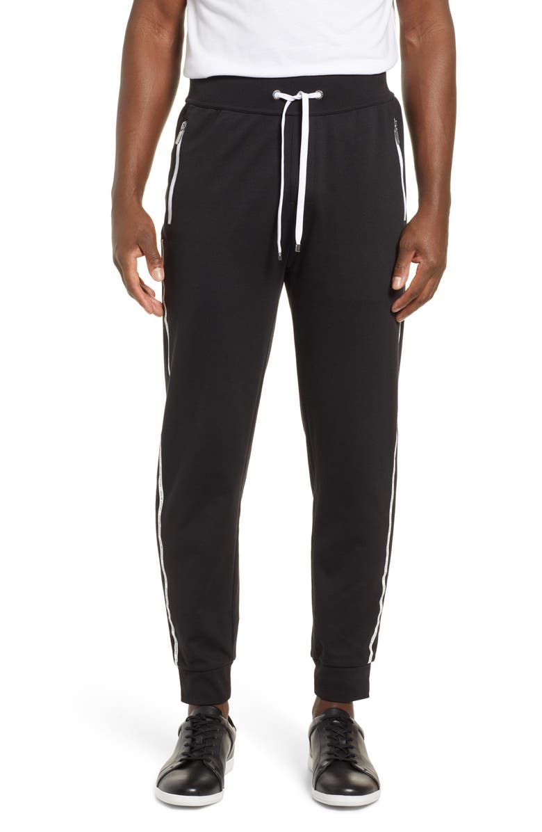 BOSS Track Pants, Main, color, BLACK