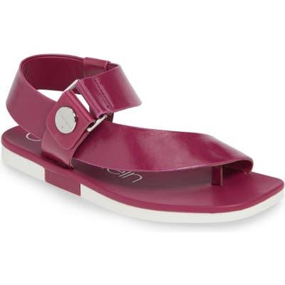 Calvin Klein Rikki Sandal- Purple
