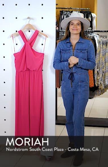 Crisscross Neck Maxi Dress, sales video thumbnail
