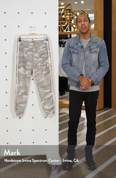 The Shaker Chop Crop Fray Camo Pants, sales video thumbnail