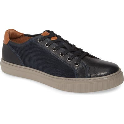 J & m 1850 Toliver Low Top Sneaker, Blue
