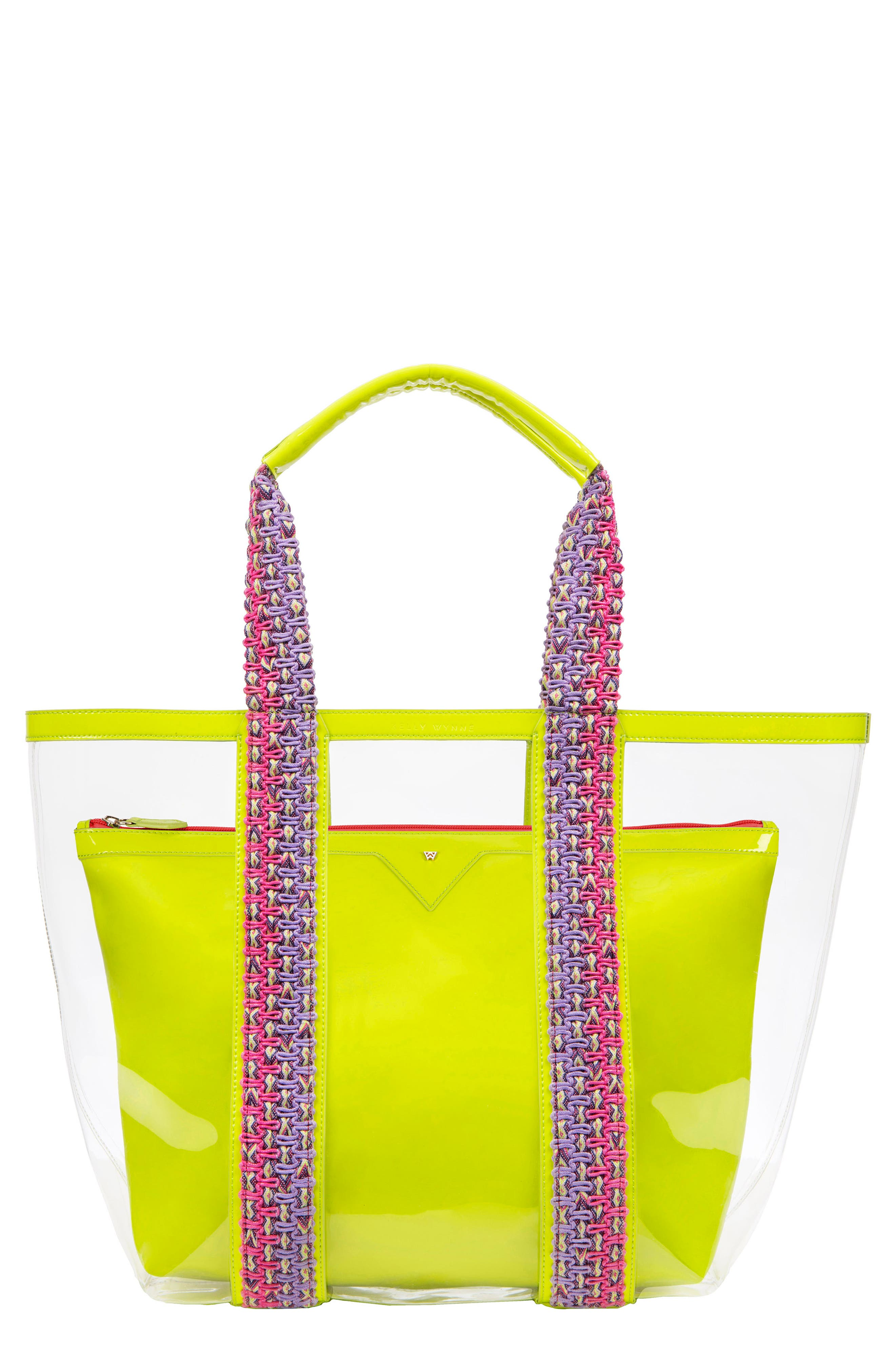 Bring On The Beach Clear Tote