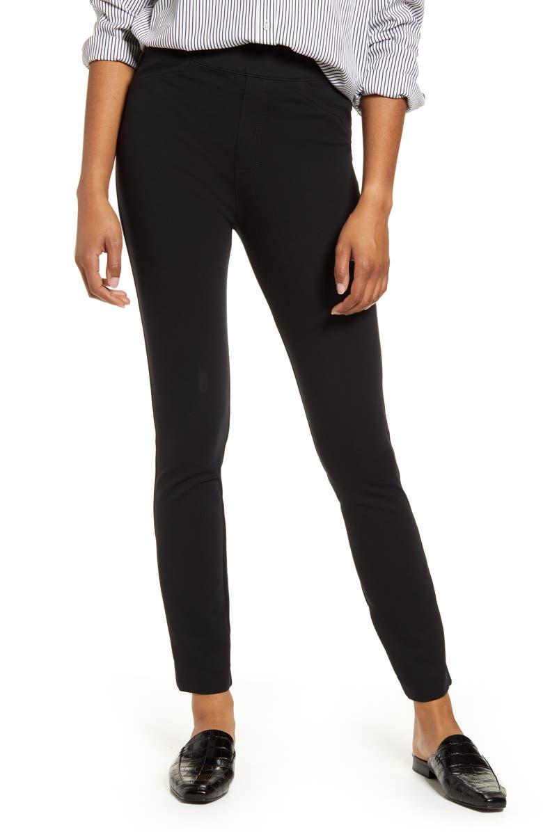 SPANX<SUP>®</SUP> The Perfect Black Pant - Back Seam Skinny Pants, Main, color, CLASSIC BLACK