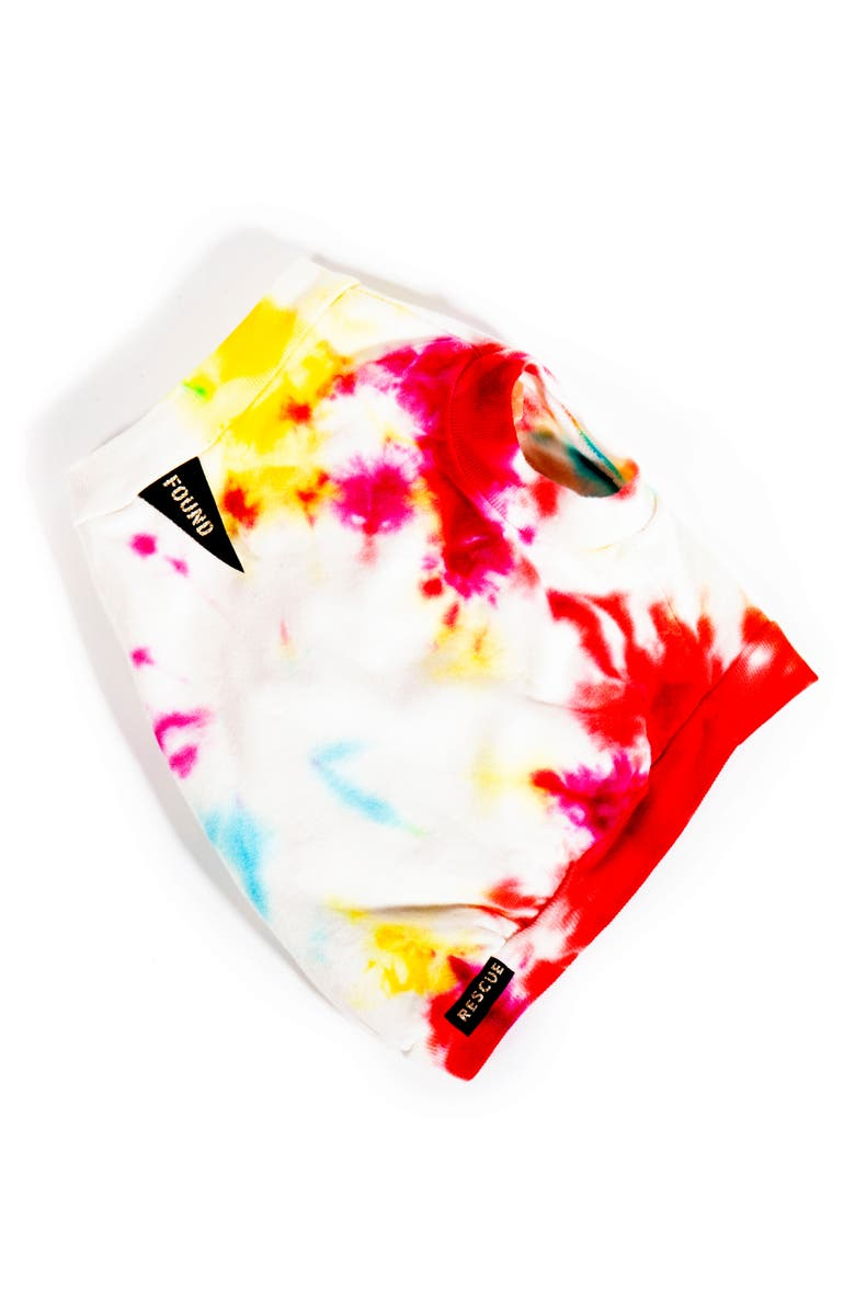 FOUND MY ANIMAL Studio Splatter Pet T-Shirt, Main, color, PRISMATIC