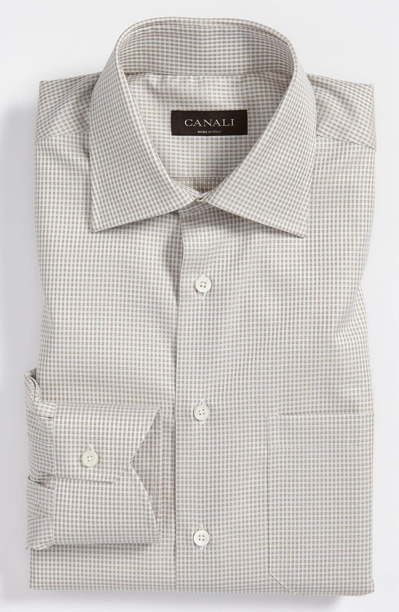 CANALI Modern Fit Dress Shirt, Main, color, 250