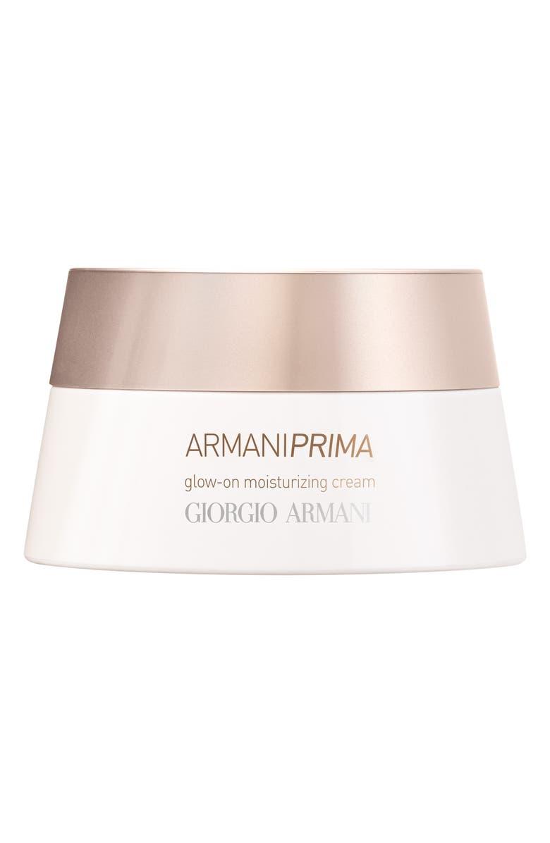 GIORGIO ARMANI Prima Glow-On Moisturizing Cream, Main, color, NO COLOR