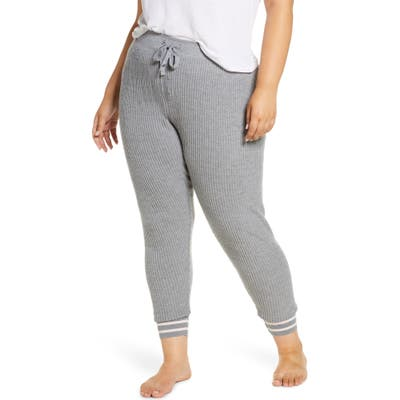 Plus Size Pj Salvage Jammie Pajama Pants, Grey