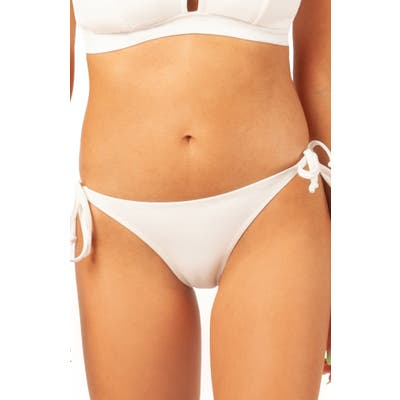 Lively The String Bikini Swim Bottoms, White