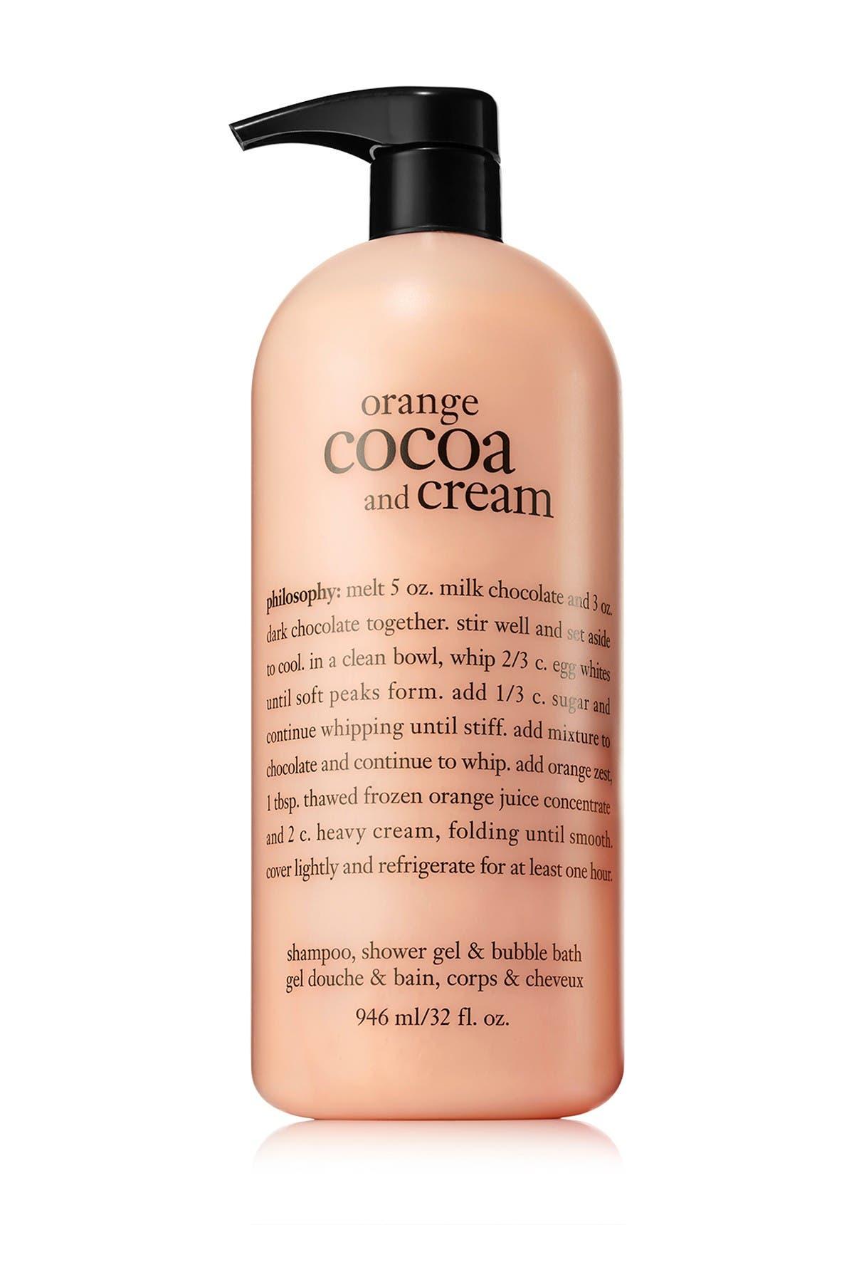 chocolate shower gel