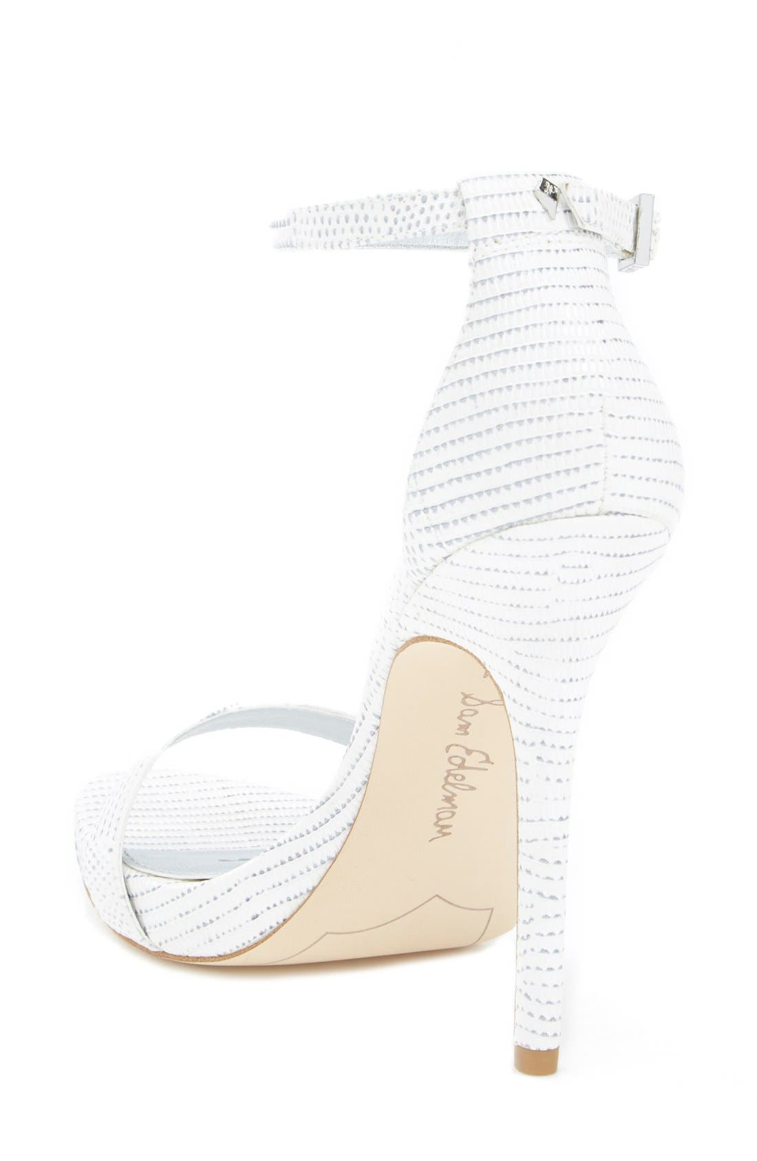 ,                             'Eleanor' Ankle Strap Sandal,                             Alternate thumbnail 80, color,                             100