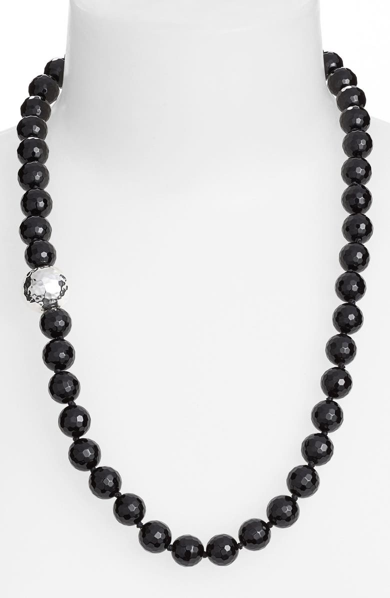 SIMON SEBBAG Stone Beaded Necklace, Main, color, 001