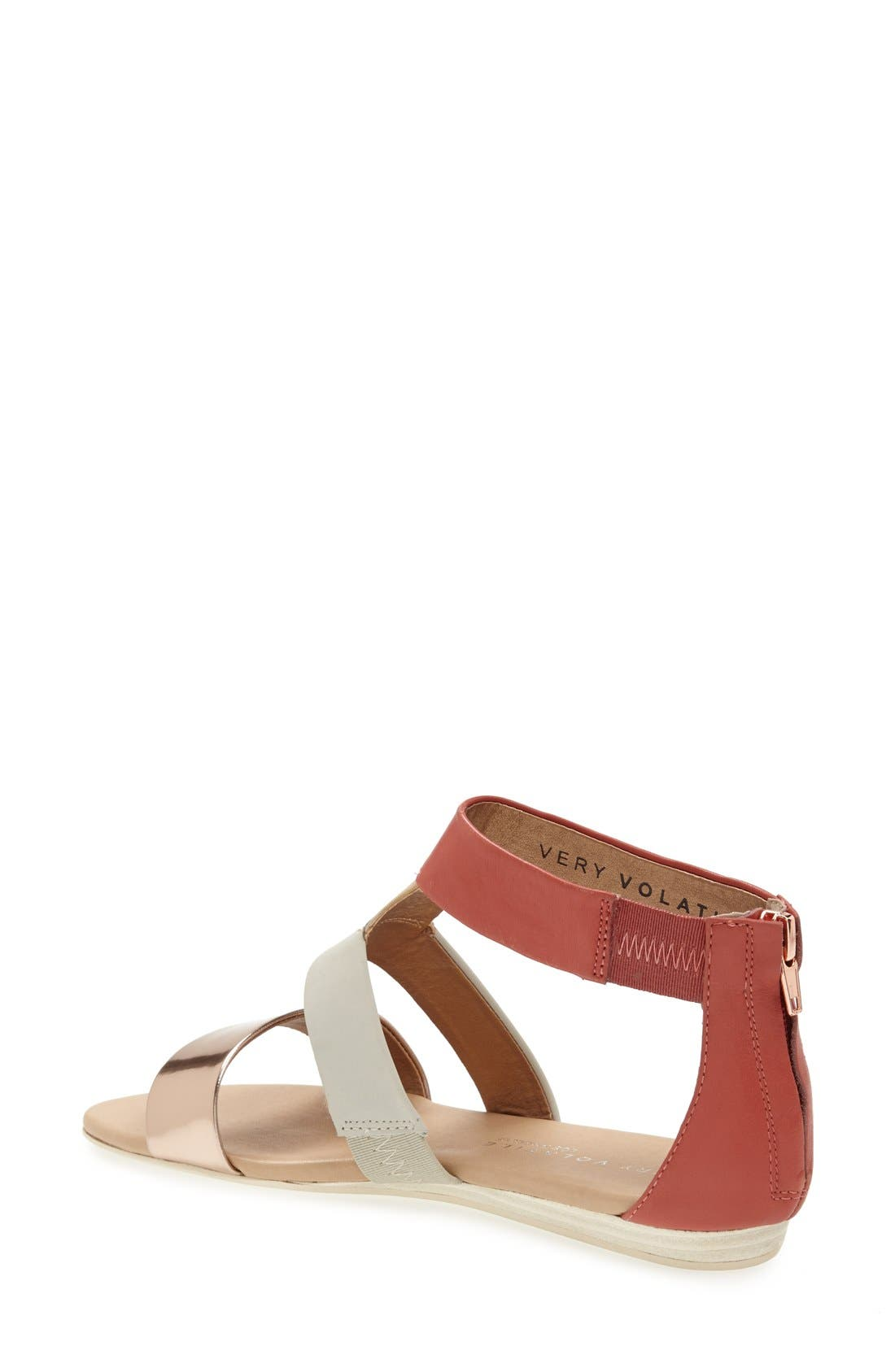 ,                             'Collective' Leather Sandal,                             Alternate thumbnail 11, color,                             950