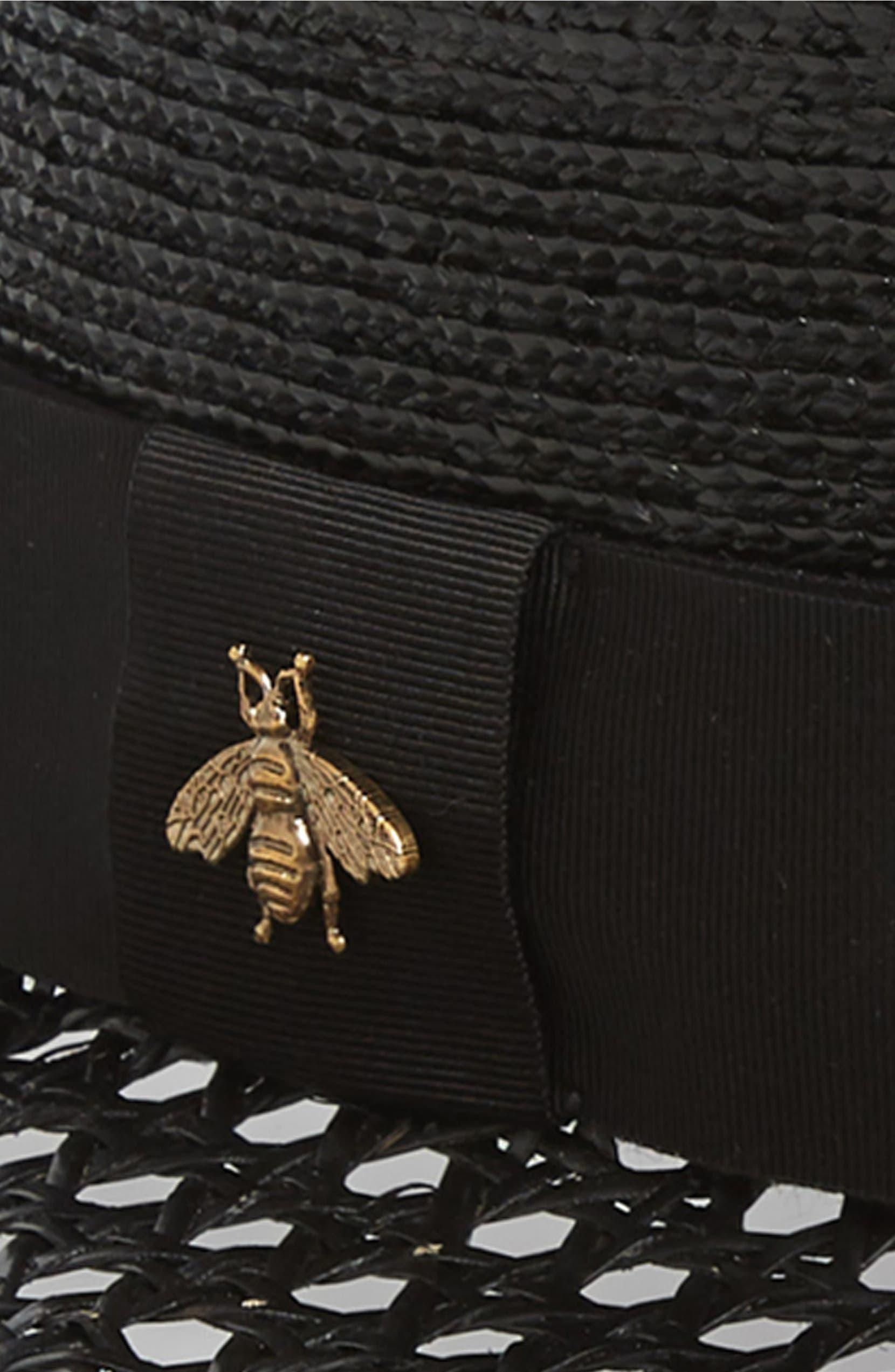 ecd4cedc Gucci Vienna Alba Open Woven Straw Hat | Nordstrom