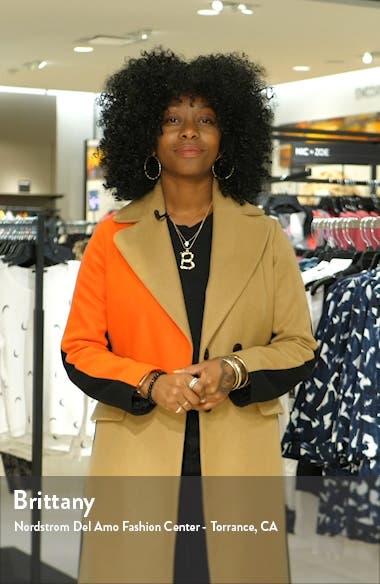 Dominique Lace Print Tiered Maxi Dress, sales video thumbnail