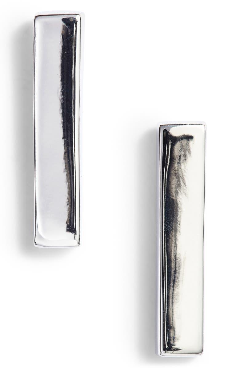 VINCE CAMUTO Vertical Bar Stud Earrings, Main, color, 040