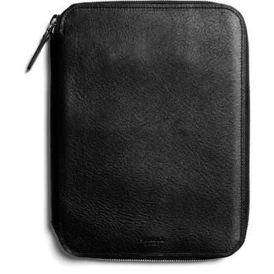 Shinola Leather Tech Portfolio - Black