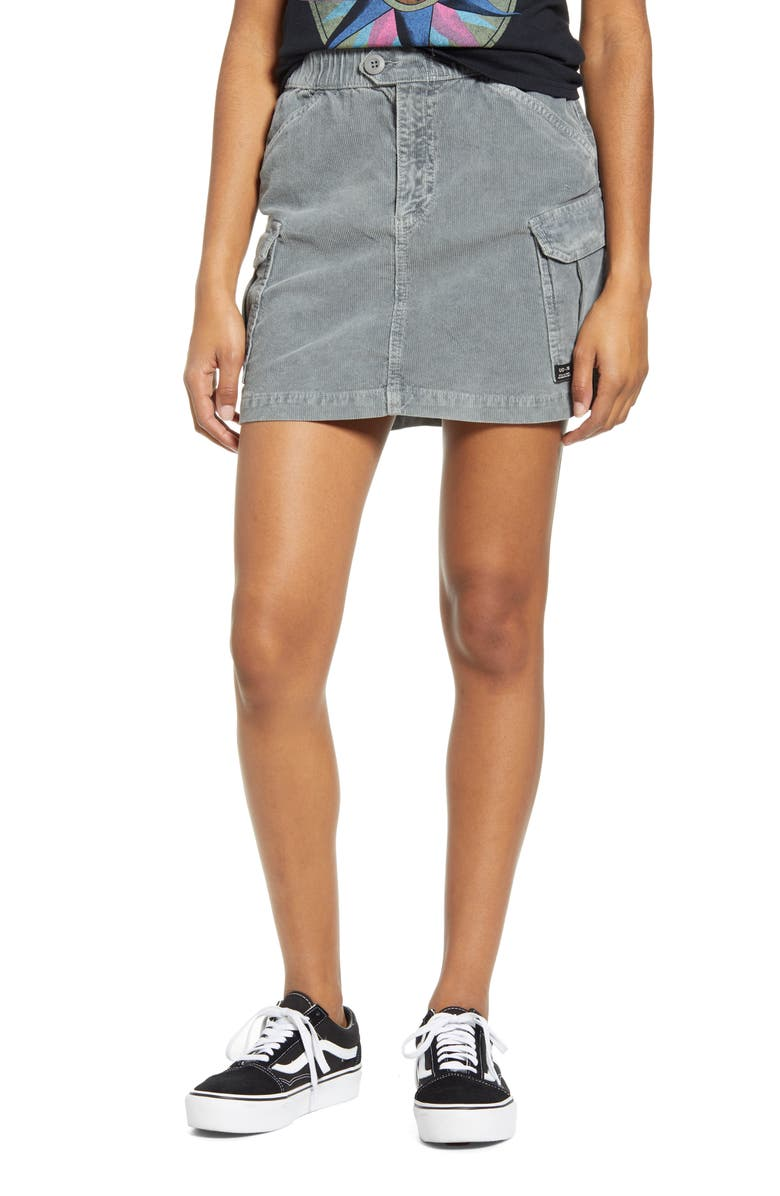 BDG URBAN OUTFITTERS Corduroy Utility Skirt, Main, color, 030