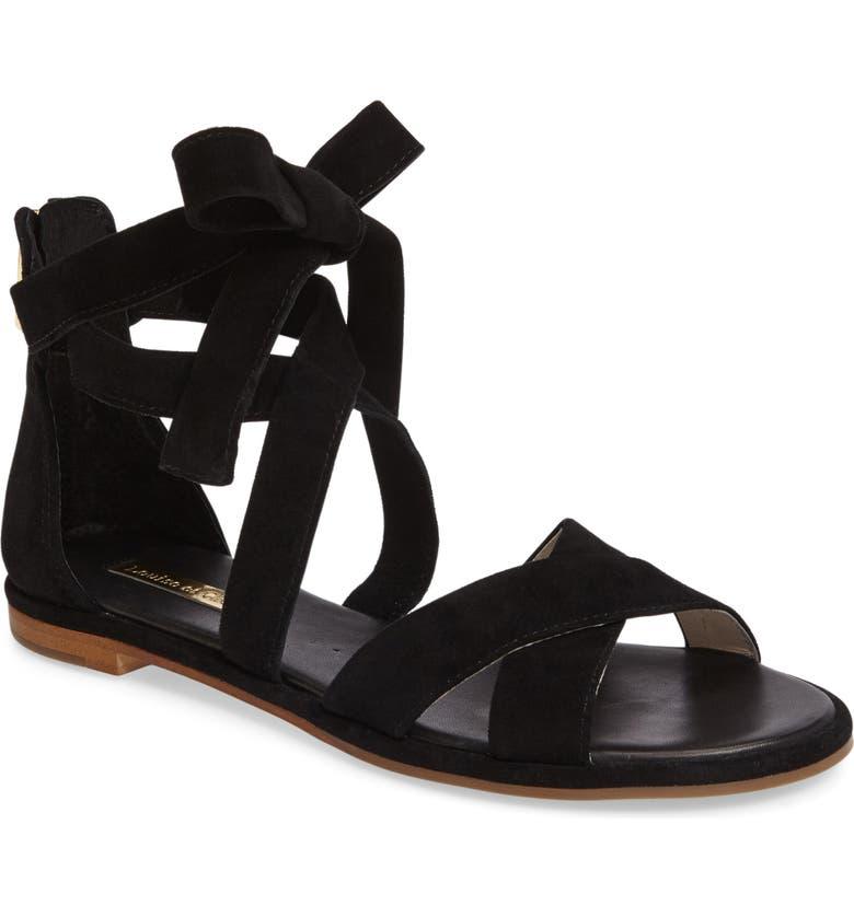 LOUISE ET CIE Clover Sandal, Main, color, 001