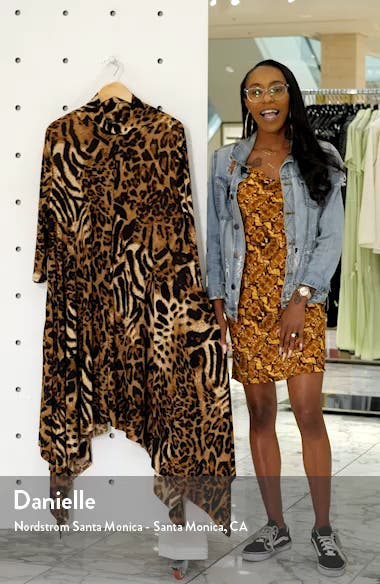 Sandi Print Handkerchief Dress, sales video thumbnail