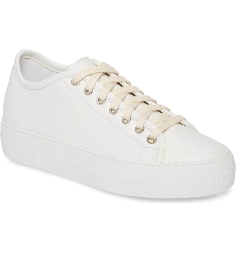 SOFIE D'HOORE Platform Sneaker, Main, color, WHITE