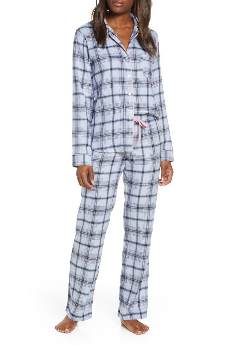 UGG<SUP>®</SUP> Raven Flannel Pajamas, Main, color, 467