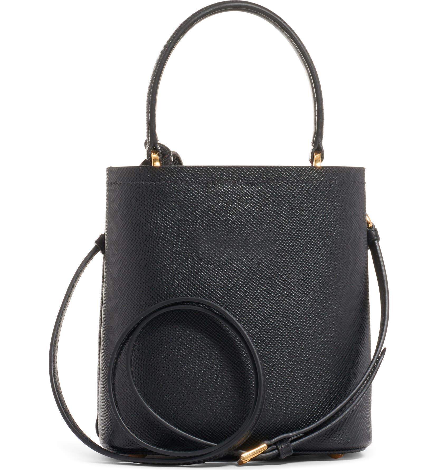 3330dd23f2a4db Prada Small Saffiano Leather Bucket Bag | Nordstrom