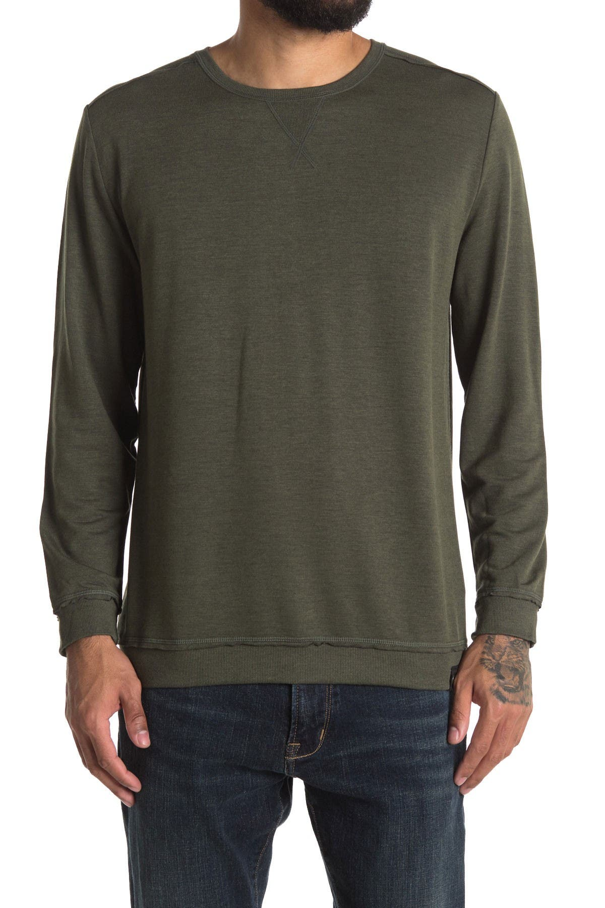 Image of Joe's Jeans Featherweight Pullover Sweatshirt
