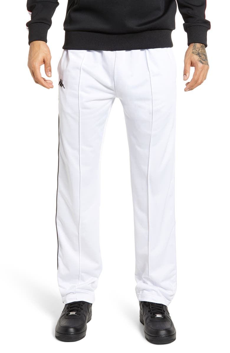 KAPPA 222 Banda Astoriazz Slim Fit Side Snap Track Pants, Main, color, 100