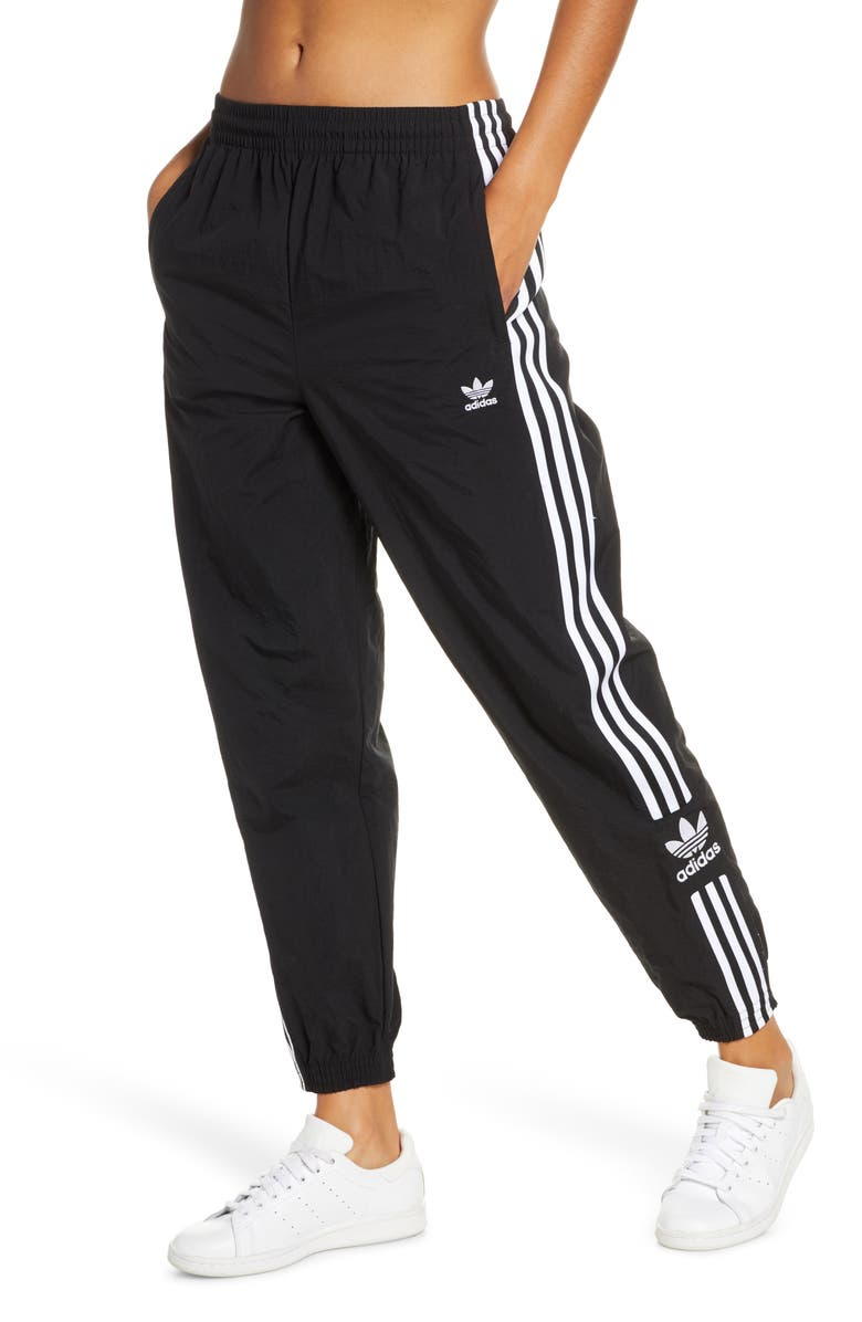ADIDAS ORIGINALS Adicolor Lock Up Woven Track Pants, Main, color, 001