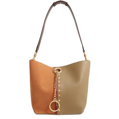 See By Chloe Gaia Leather Shoulder Bag -