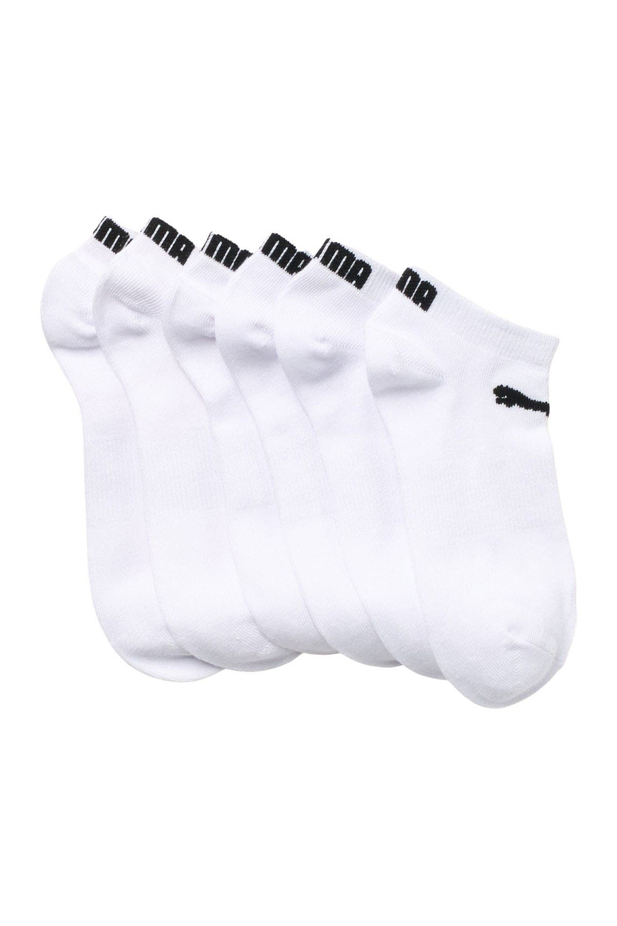 Image of PUMA Non-Terry Low Cut Socks - Pack of 6