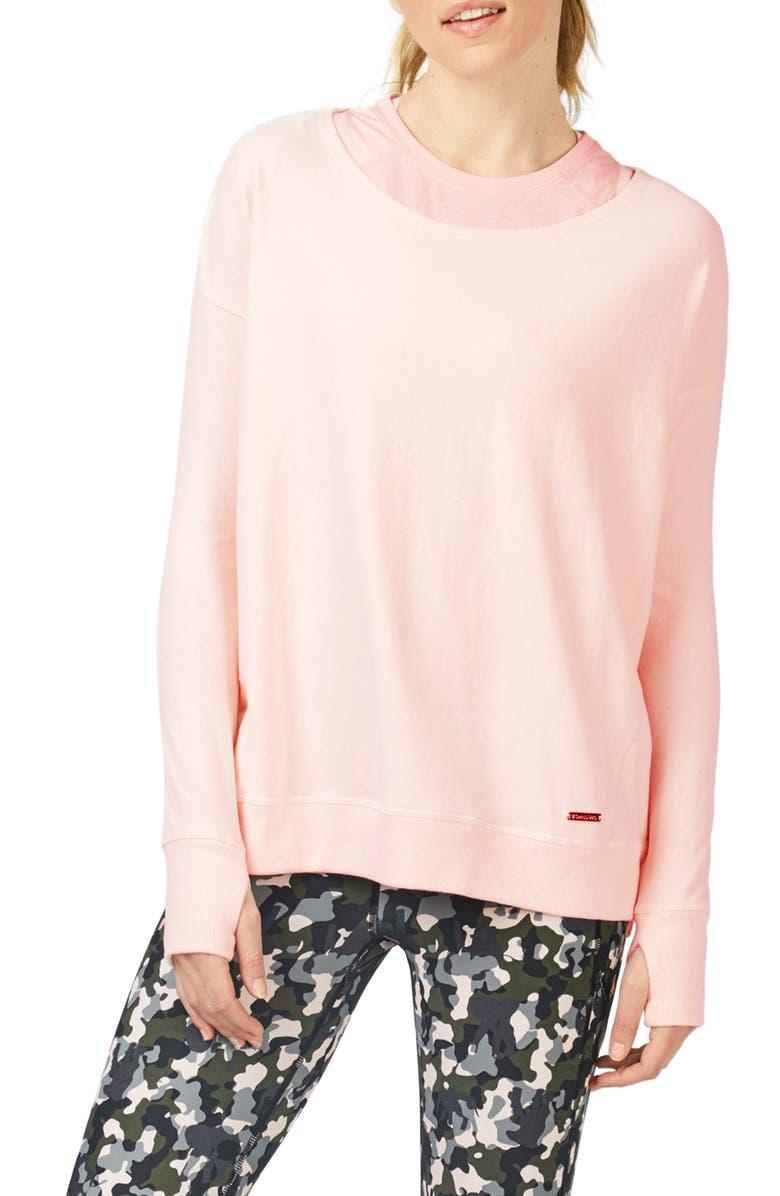 SWEATY BETTY Luxe Simhasana Sweatshirt, Main, color, 651