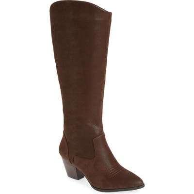 Bella Vita Evelyn Ii Knee High Boot- Brown