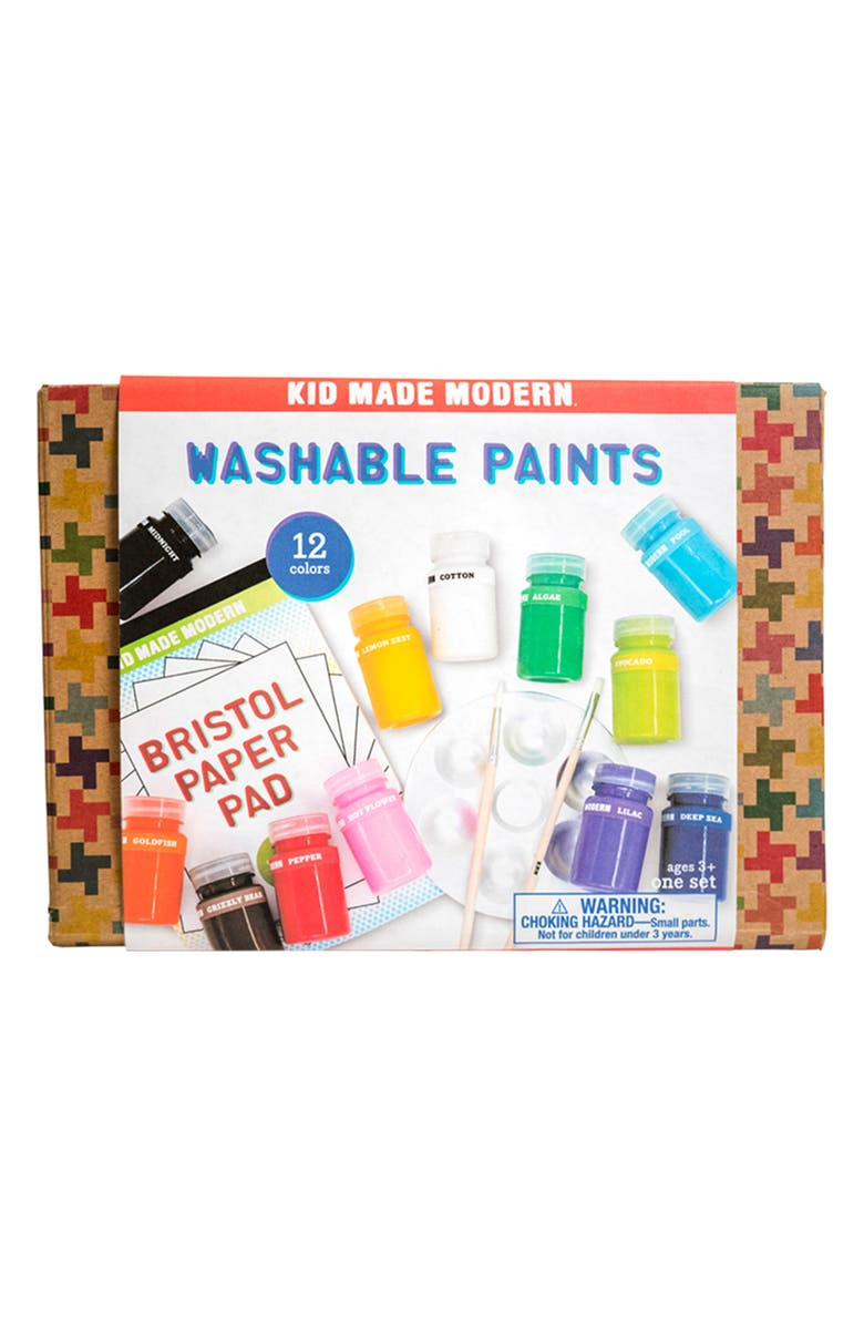 KID MADE MODERN Washable Paint Set, Main, color, 100