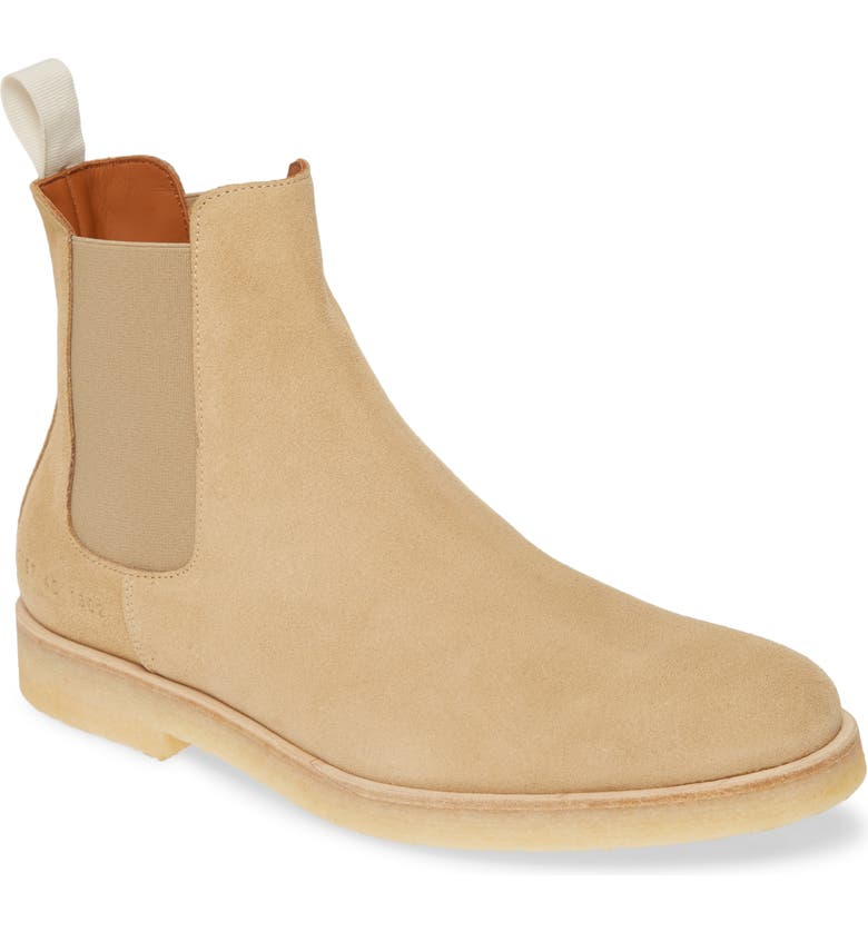 COMMON PROJECTS Chelsea Boot, Main, color, TAN
