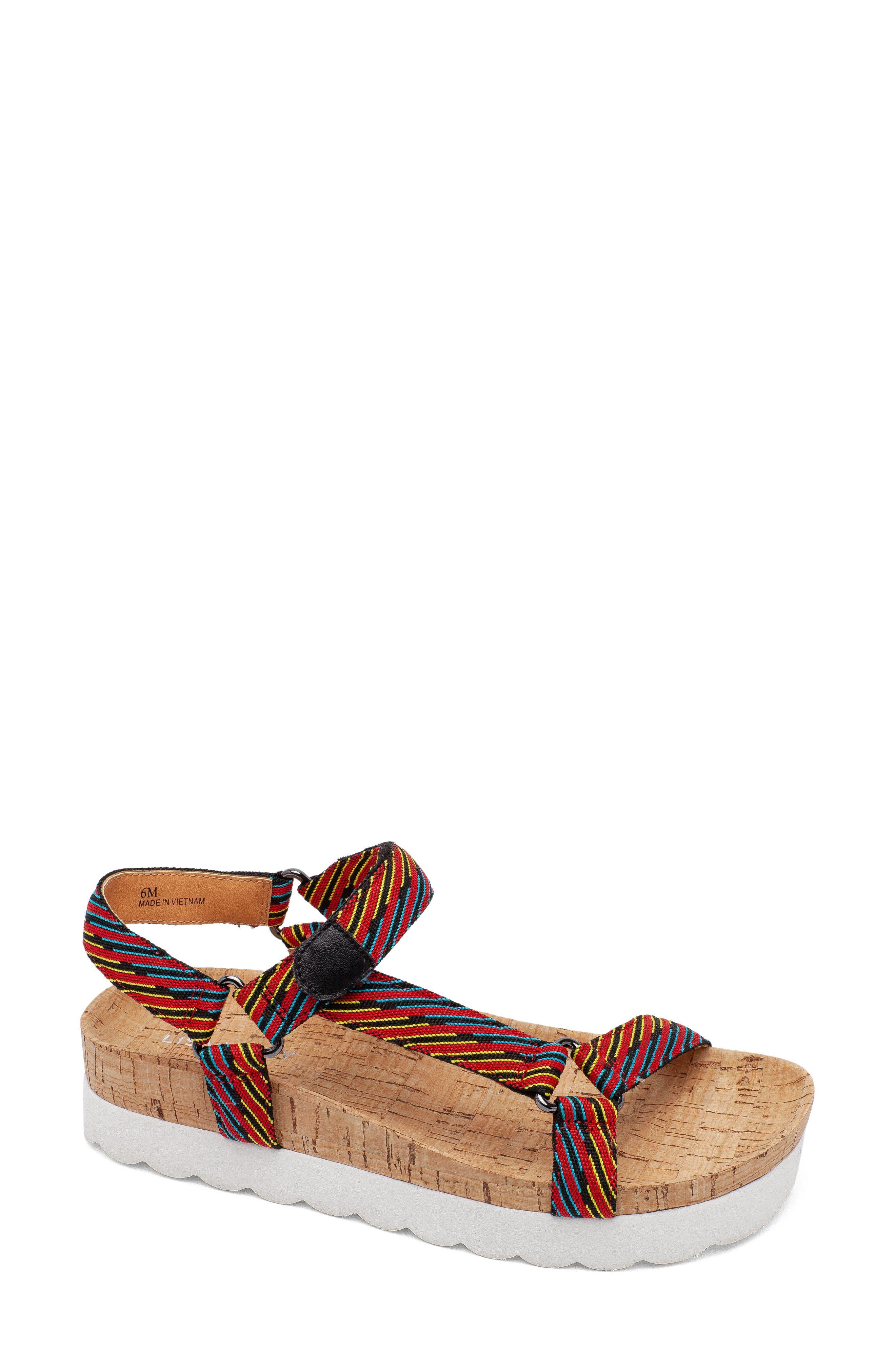Because Cork Platform Sandal