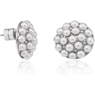 Majorica Simulated Pearl Stud Earrings
