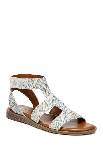 Image of Franco Sarto Genevia Snakeskin Embossed Sandal